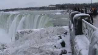 NIAGARA FALLS IN WINTER 2013!!!!