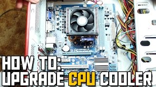 How to Upgrade CPU Cooler // How to Replace CPU Cooler or Heatsink