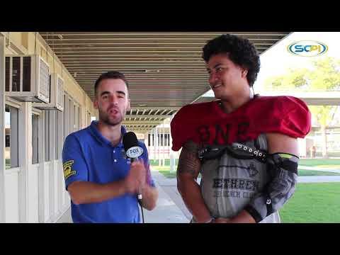 CIF-SS Top Recruit Linebacker Stanley Taufoou of Grace Brethren High School