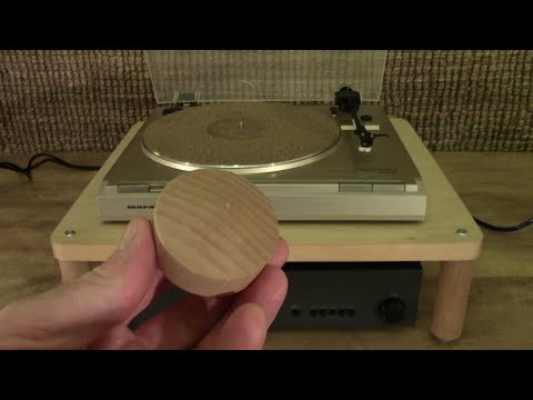 Turntable Update 7: Wooden Cone Feet