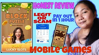 BLOCK PUZZLE WOOD WINNER 2021 UPDATES LEGIT OR SCAM (Honest Review) cash out in 1 hour screenshot 3