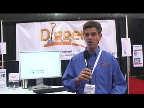 Tim Musgrove, Digger, at SES San Jose 2009 on semantic technology and free trial software