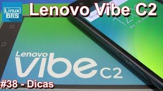Lenovo Vibe C2 - Dicas básicas - Português