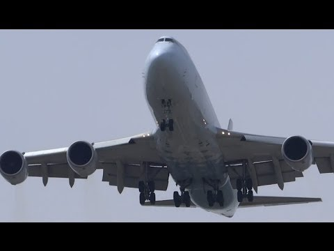 Heavy Airliners Overhead Landings & Misc. Plane Spotting @ Chicago O'Hare International Airport