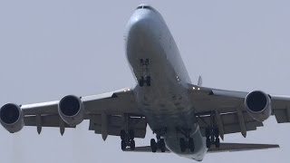 Heavy Airliners Overhead Landings & Misc. Plane Spotting @ Chicago O