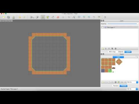 how to make a collision layer in tiled