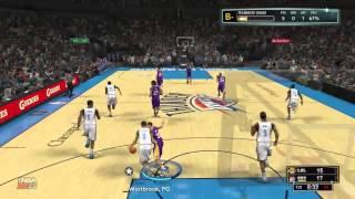 NBA 2K13 My Career Solomon Jones Game 2 Part 1 (Xbox 360)
