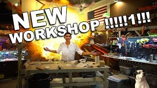 NEW Youtube studio/workshop!