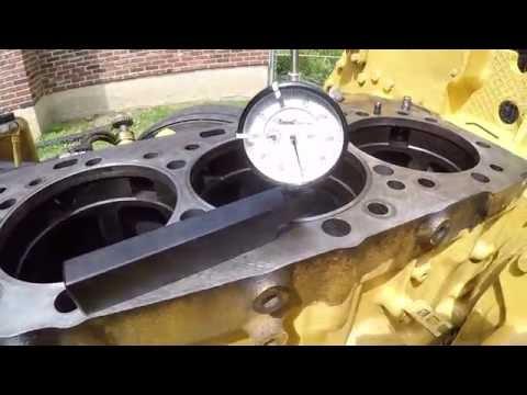 #4. Капитальный ремонт двигателя, Катерпиллер 3406Е / С15. Caterpillar 3406E / C15 Inframe Overhaul.
