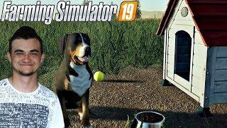 Farming Simulator 19 - Pies i Koń czyli zwierzęta które umilą nam gre?!