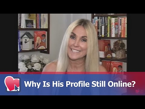 Why Is His Profile Still Online? - By Donna Barnes (for Digital Romance TV)