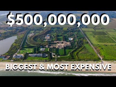 THE BIGGEST AND MOST EXPENSIVE HOME IN THE UNITED STATES $500 MILLION