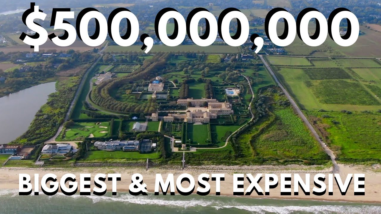 Inside Look: The Most Expensive Home in the United States!