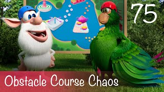 Booba - Obstacle Course Chaos - Episode 75 - Cartoon for kids