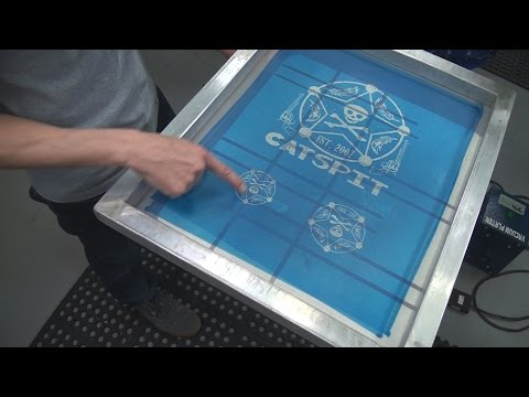 How To Screen Print T-Shirts: Left Chest Or Crest Print Placement Expanded