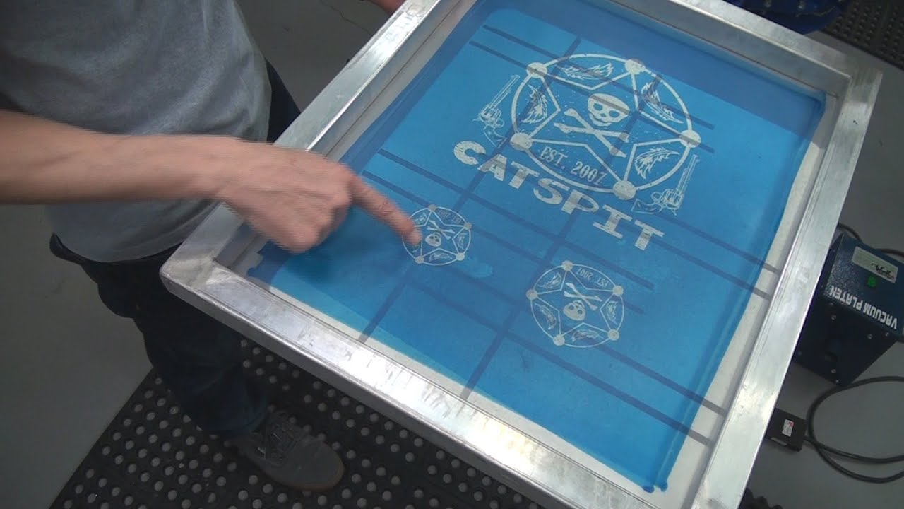 How To Screen Print T Shirts Left Chest Or Crest Print