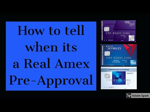 How To Tell If You Are Pre Approved For An American Express Account (No Hard Inquiry For Members)