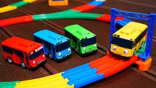 Автобусы Таио и детская Железная дорога - Мультики для детей