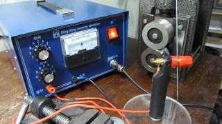 Электроконтактная точечная искровая микросварка для ювелиров 50А(Сварочный аппарат индустриального и ювелирного назначения максимально приближен к возможностям лазерной..., 2016-12-04T22:44:49.000Z)
