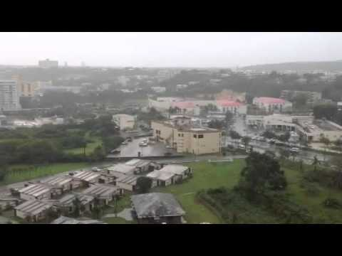 Guam Cross Country Typhoon - Oct. 2105