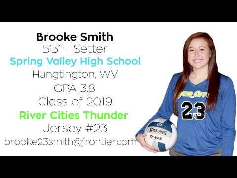 Brooke Smith 2017 Recruiting Highlight Video