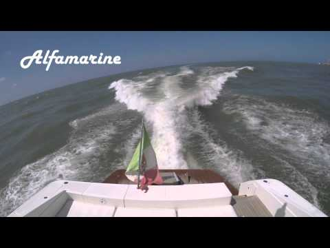 2007 Alfamarine 58' Yacht, Prova con mare mosso/Sea trial in high waves