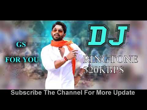 DJ (Duvvada Jagannadham) Official  Original Ringtone 320kbps