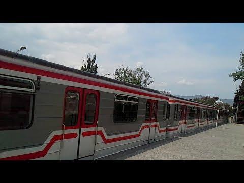 Tbilisi, Georgia metro Station Gotsiridze. Тбилиси, станция метро Гоциридзе.
