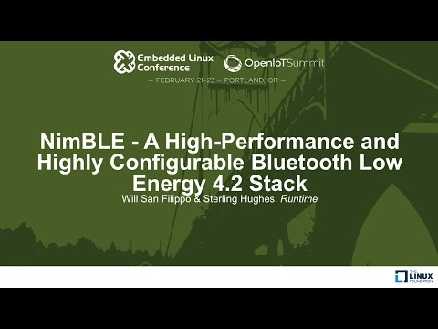 NimBLE - A High-Performance and Highly Configurable Bluetooth Low Energy 4.2 Stack