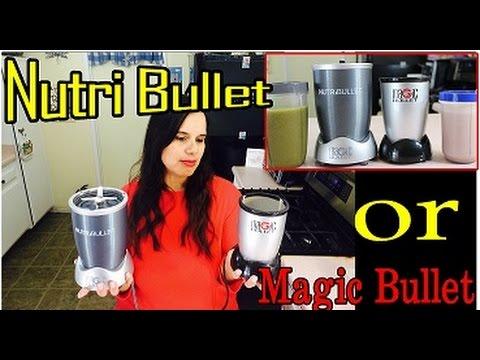 Magic Bullet Or NutriBullet Which One Should I Buy