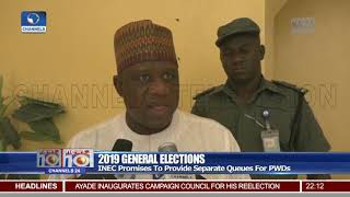 2019 Elections: INEC To Provide Separate Queues For People Living With Disabilities