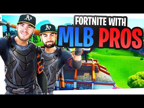 2 Fortnite Pros And 2 MLB Pros Take On Fortnite