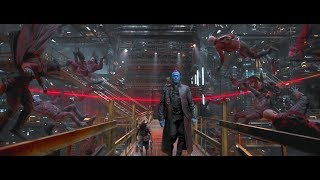 "Guardians of the Galaxy Vol.2 - ""Yondu using his Yaka Arrow"" Scene"