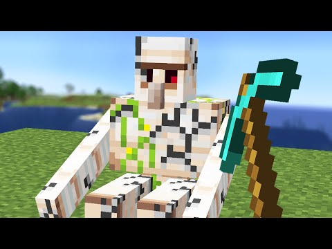 Minecraft but you can Mine mobs - Comments To Crafting