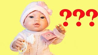 Іспанська лялька Berbesa як бебі бон. Розпакування ляльки як бебі бон