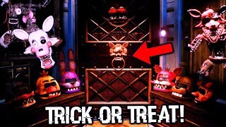 TRICK OR TREAT WITH THE ANIMATRONICS... || Five Nights at Freddy's VR: Help Wanted Halloween DLC