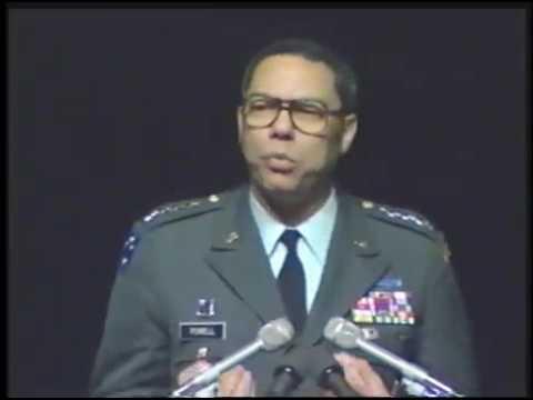 Landon Lecture | Colin Powell
