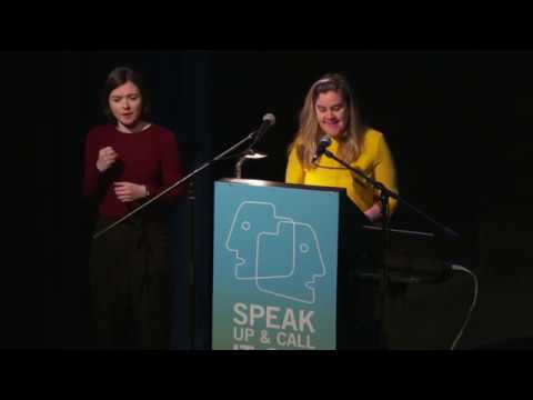 Speaking Up: Grace Dyas, Artist and Activist. Andrea Irvine, Actor