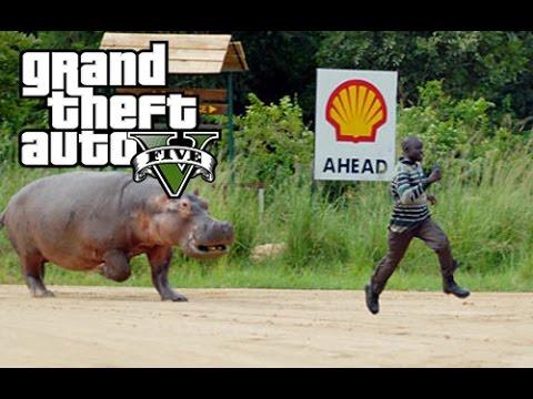 GTA 5 Gameplay - IN THE HOOD   AFRICAN RUNDOWN  GTA Online