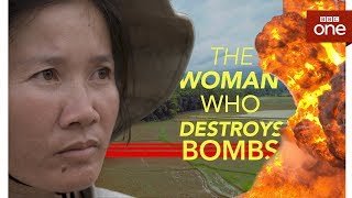 The Woman Who Destroys Bombs - BBC