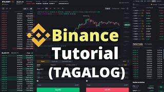 Binance Tutorial For Beginners - Tagalog 2021