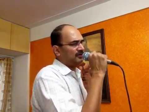 Kabhi sochta hoon .. aadmi jo kehta hai... sung by Shailen Ambegaokar