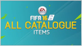 FIFA 16 - All Catalogue Items