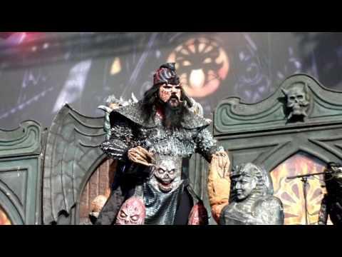 Lordi - Blood Red Sandman, Live