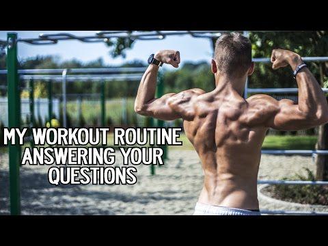Beginner workout routine Calisthenics