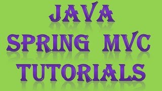Spring MVC Tutorial with Example Part 1