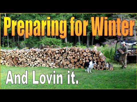 PREPARING FOR WINTER AT THE HOMESTEAD. Modern Homesteading.