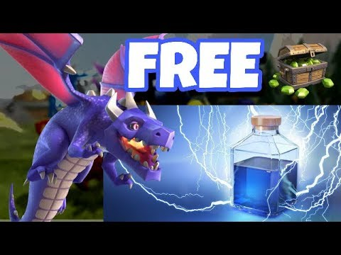 200 FREE GEMS EVENT - DRAGON EVENT - CLASH OF CLANS