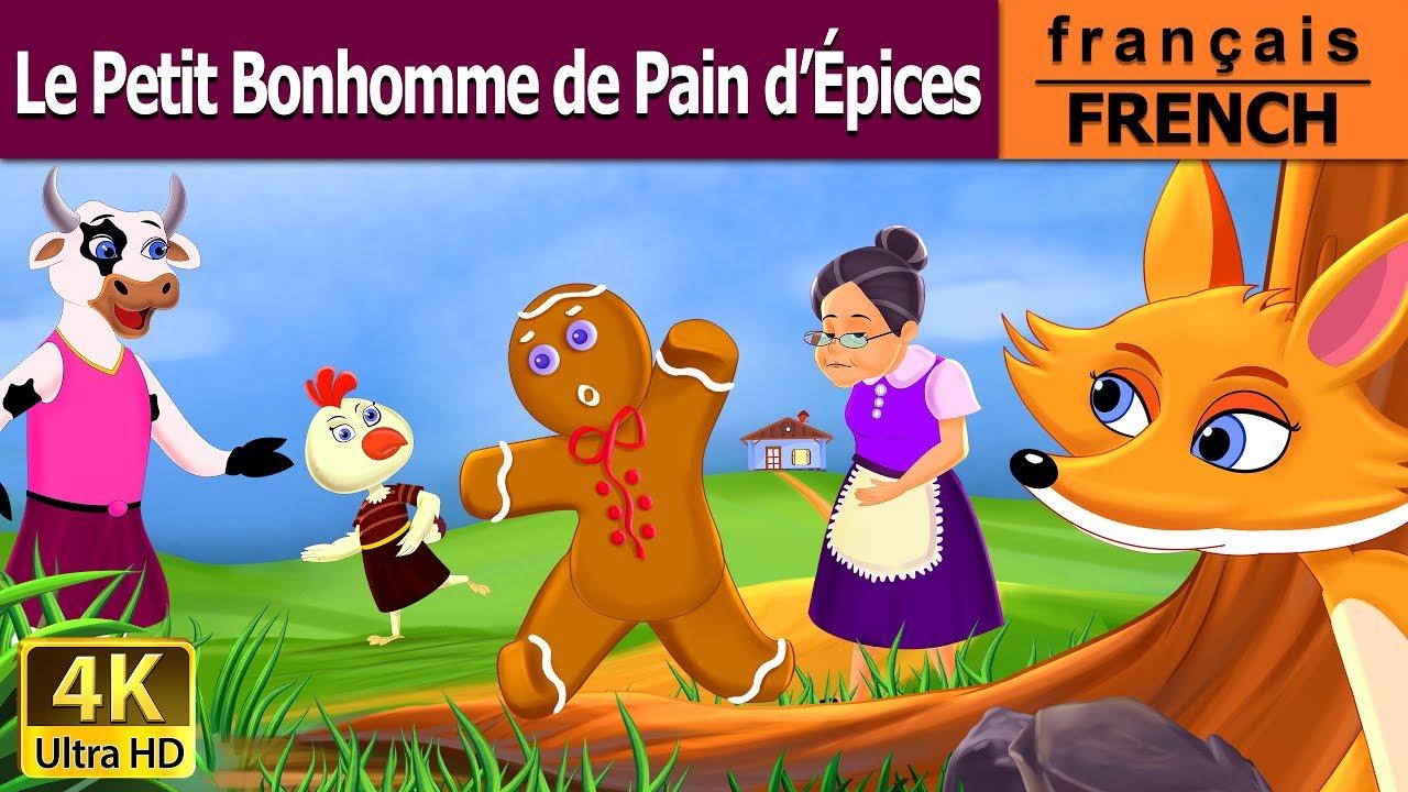 Le petit bonhomme de pain d 39 pices histoire pour s 39 endormir contes de f es fran ais youtube - Coloriage petit bonhomme de pain d epice ...