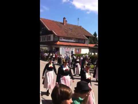 Festzug 200 Jahre Blaskapelle Übersee-Feldwies